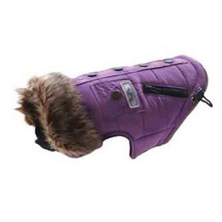 Huskimo Everest coat Violet